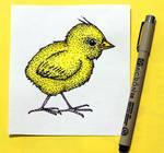 Inktober 2018 - Day 15 - Chick