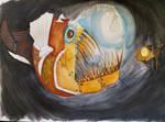 Steampunk Anglerfish W.I.P 2