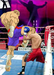 Street Fighter Escape-Sagat