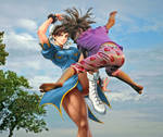 Street Fighter Escape-Chun Li