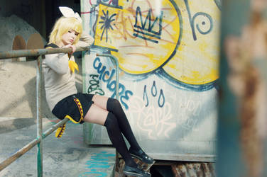Kagamine Rin - Cosplay by ECOC