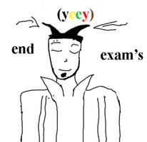 exam's end