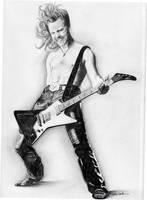 James Hetfield by hiatis