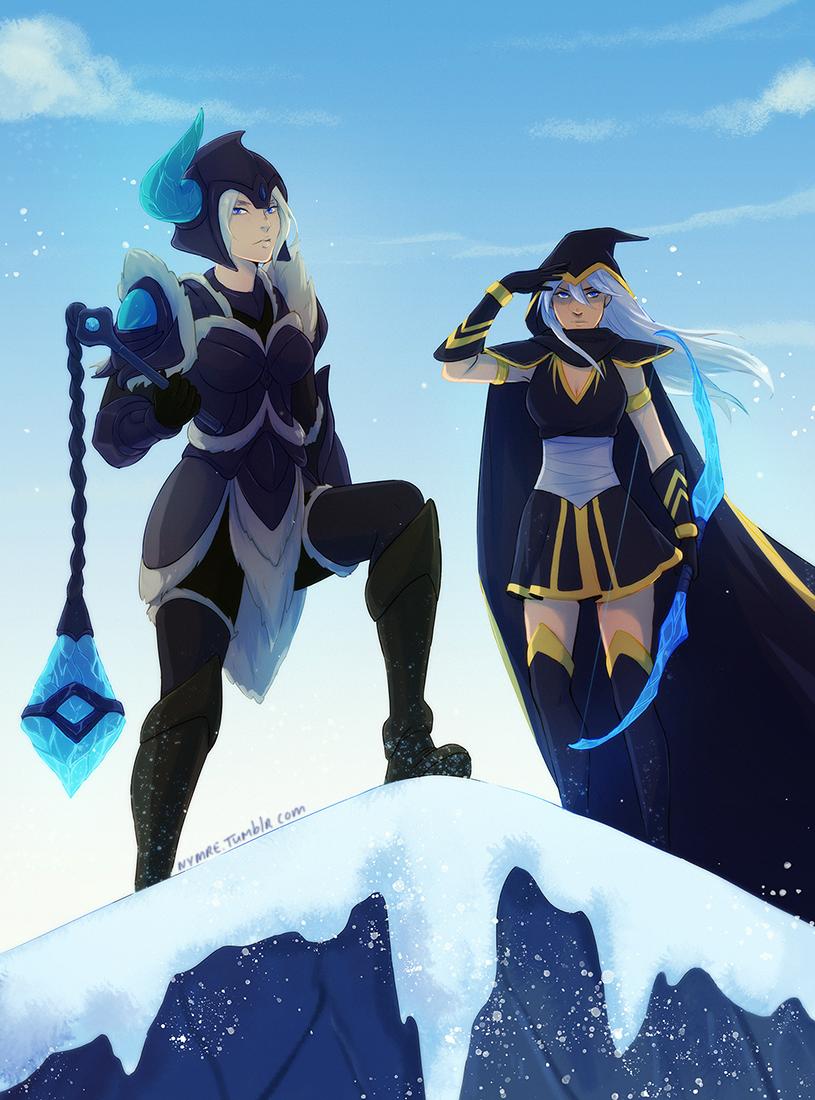 Sejuani and Ashe