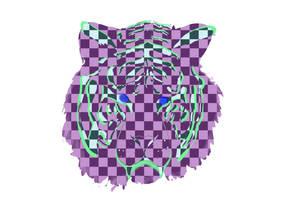 Checkered Tiger