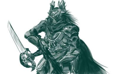 Destiny Captain Sketch