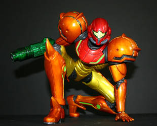 Custom Samus Action Figure by red3183