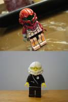 Lego Samus Helmet - Complete by red3183