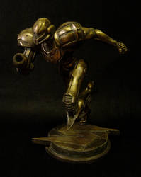 Bronze Samus by red3183