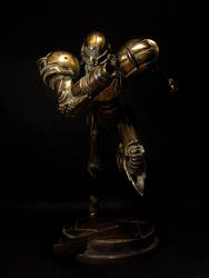 Bronze Samus Front by red3183