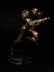 Bronze Samus Front Right by red3183