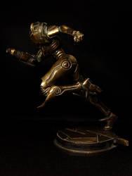 Bronze Samus Left by red3183