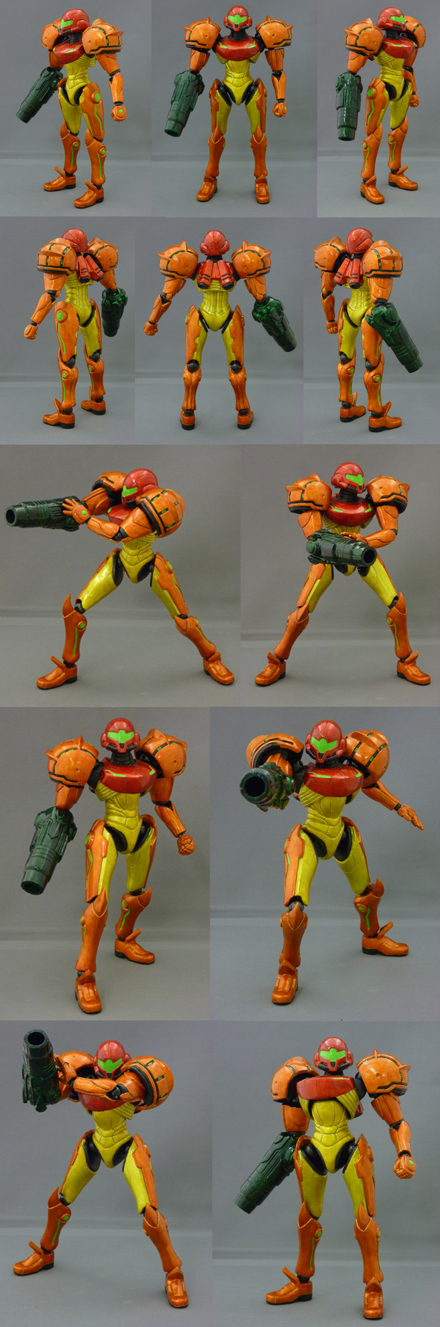 "7"" Samus Action Figure by red3183"