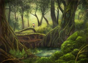 Forest by greedy-peri