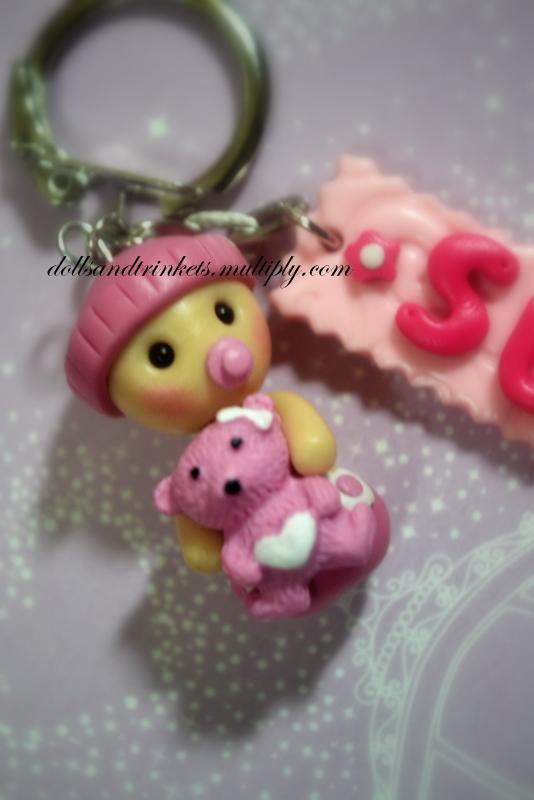 baby shower souvenir by dollsandtrinkets on deviantart