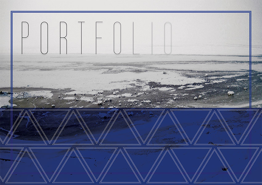 Portfolio cover by Ani-ko