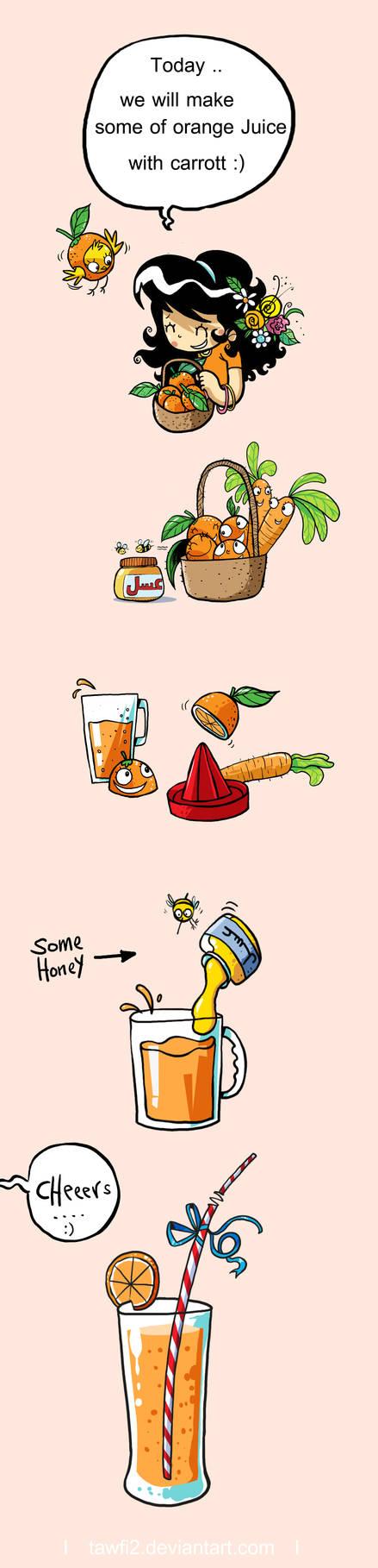 How Make Some Of orange Juice