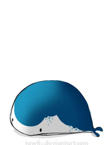 a little blue whale.....