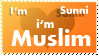 I'm Sunni ... i'm Muslem by tawfi2