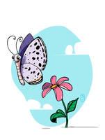 a little butterfly by tawfi2