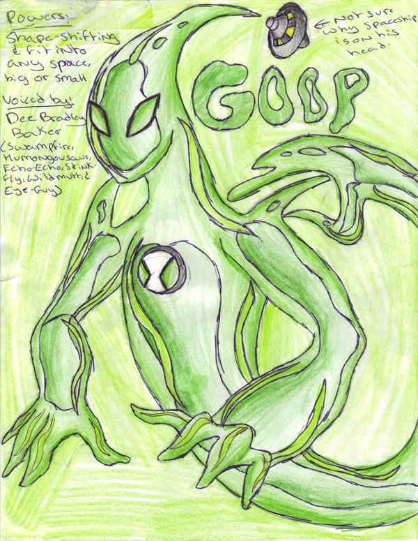 ben 10 coloring pages goop - photo#42