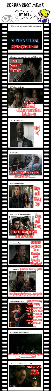 Screenshot Meme- Supernatural by TheBig-ChillQueen
