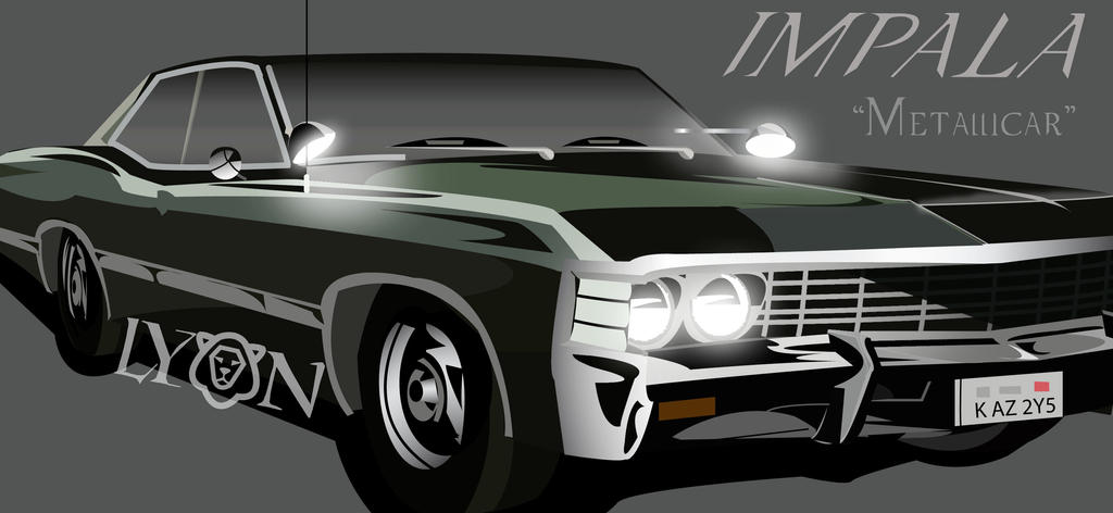 Dean's 1967 Chevy Impala by TheDocRoach