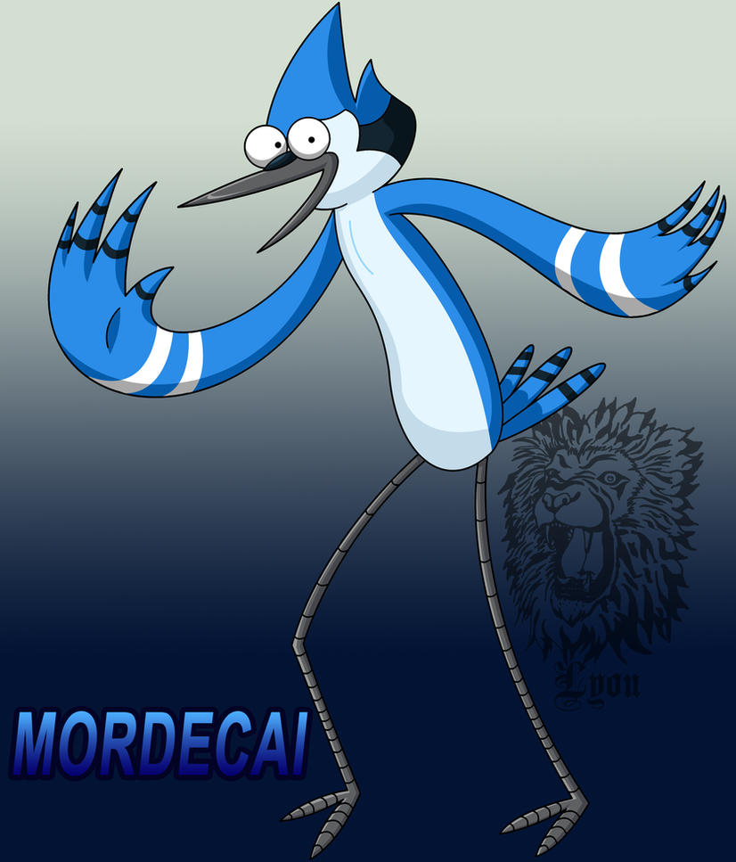 Mordecai :D by TheDocRoach