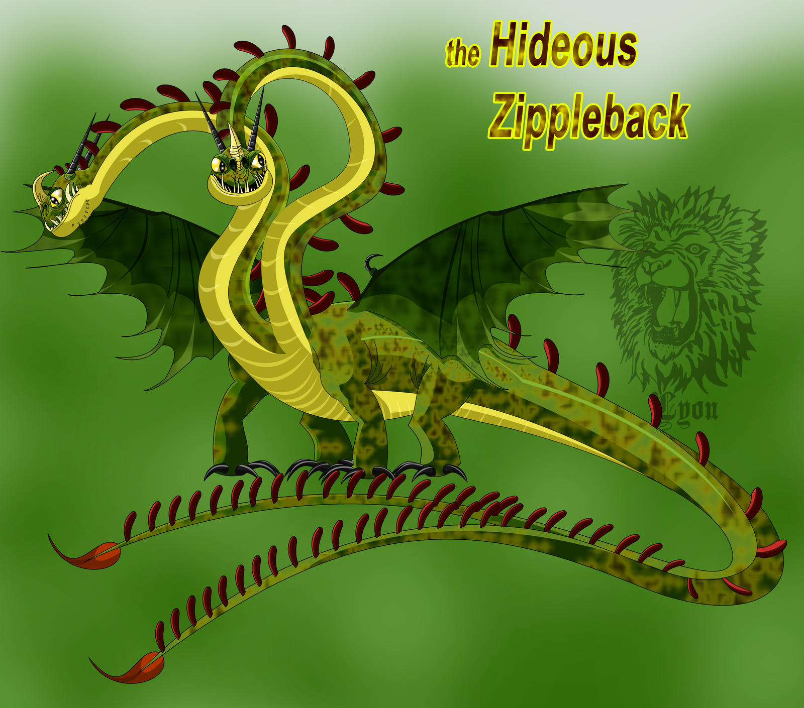The Hideous Zippleback by TheDocRoach on DeviantArt
