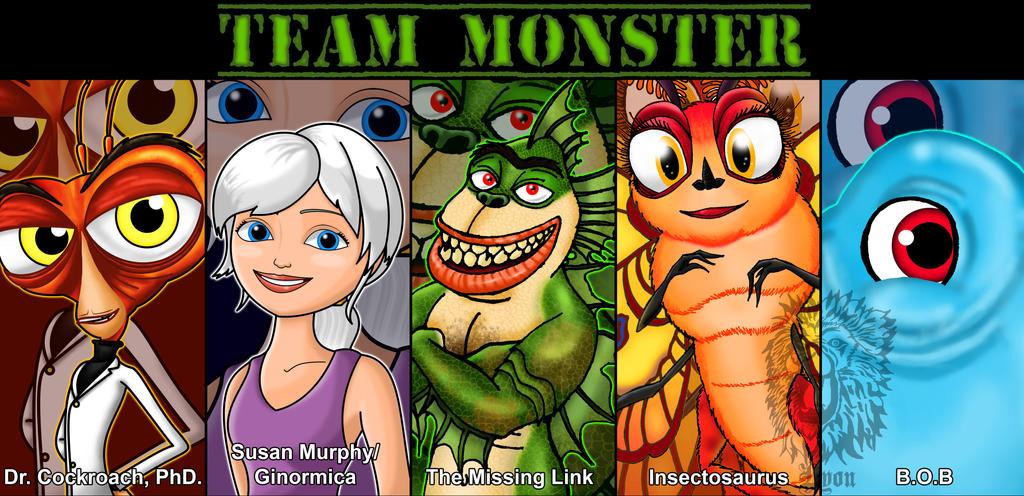 Monsters Vs Aliens favourites by SurfsUp07 on DeviantArt