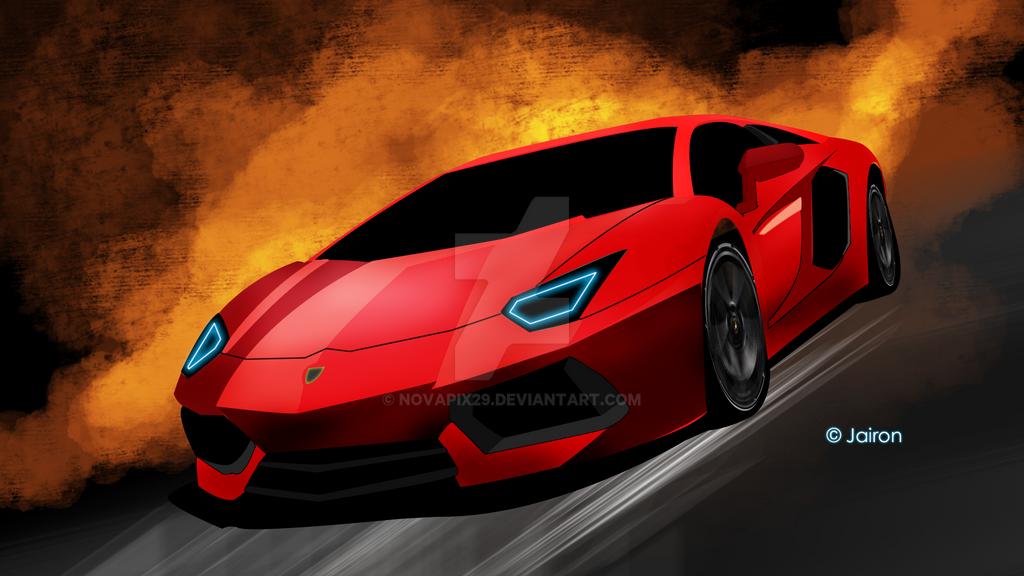 Aventador Remake Concept by novapix29