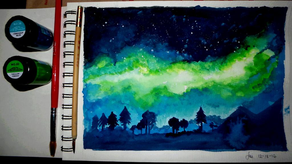 Northern Lights by novapix29