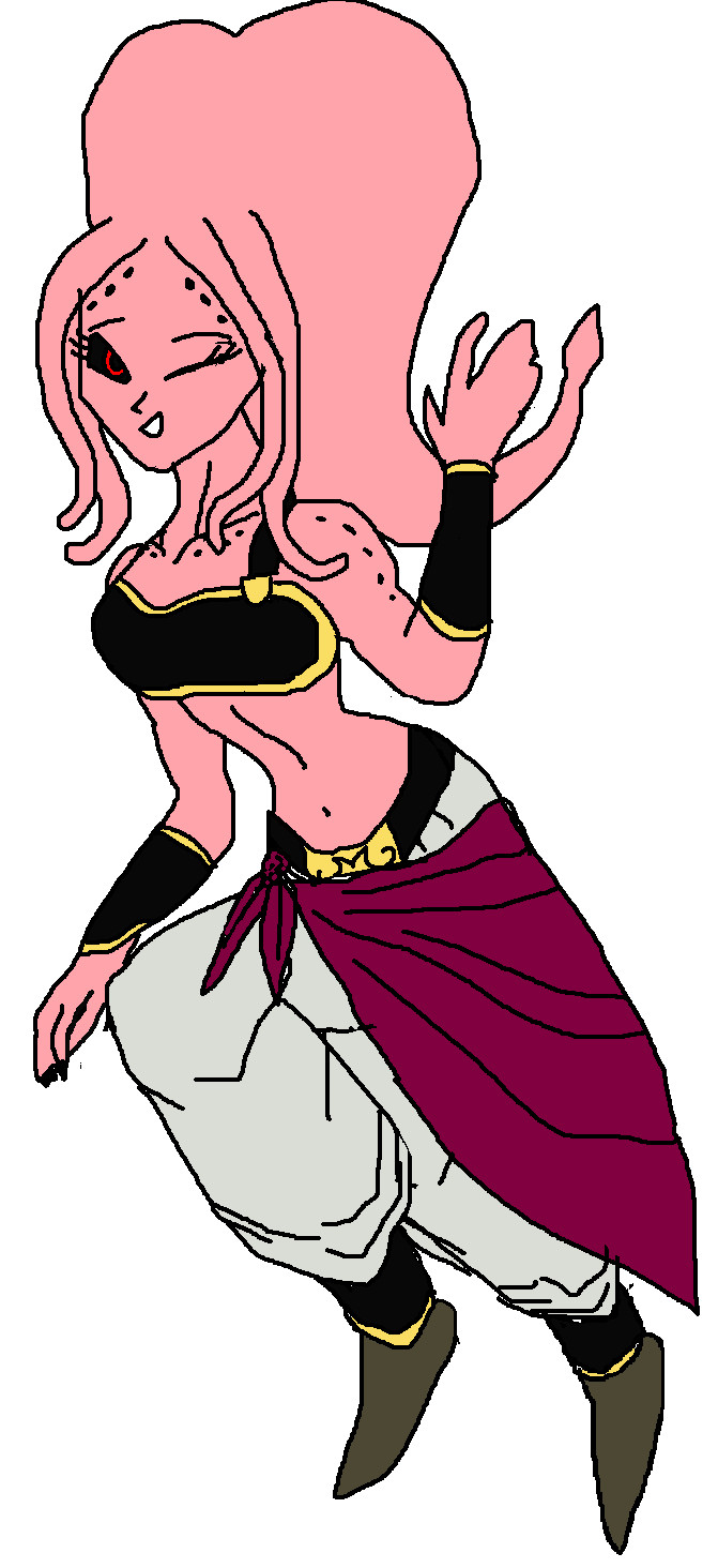 Female Majin Boo by AnaPaulaDBZ