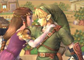 Link x Zelda Brawl Screenshot by AnaPaulaDBZ