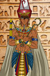 YGO - Pharaoh Seth, King of the Two Lands