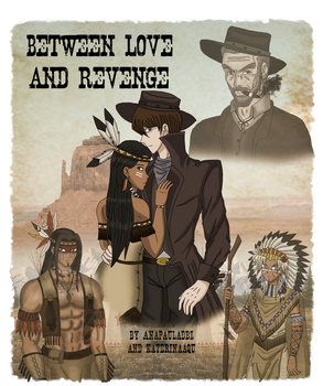 Between Love and Revenge Cover