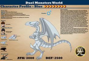 Duel Monsters World - Meet Blue by AnaPaulaDBZ