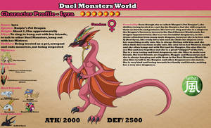 Duel Monsters World - Lyra (Harpie's Pet Dragon) by AnaPaulaDBZ