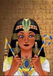 YGO Queen Isis - Rinmaru Avatar Creator by AnaPaulaDBZ