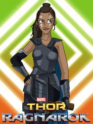Thor: Ragnarok - Valkyrie Poster by AnaPaulaDBZ