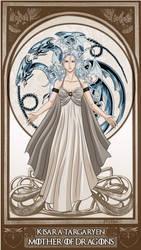 YGO/GoT- Kisara Targaryen, Mother of Dragons