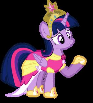 Twilight Sparkle princess vector