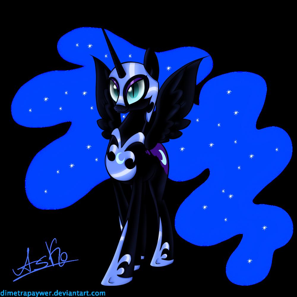 Nightmare Moon by DimetraPaywer
