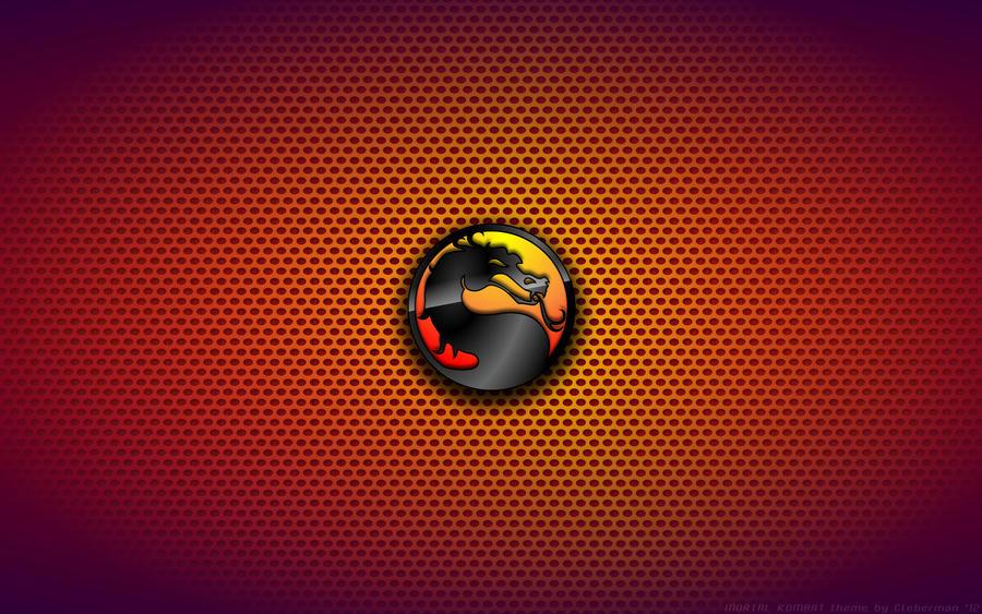 Wallpaper Mortal Kombat Logo By Kalangozilla On Deviantart