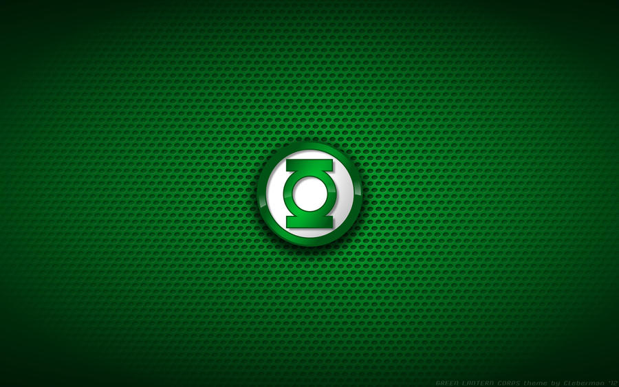 Wallpaper - Green Lantern Corps Logo