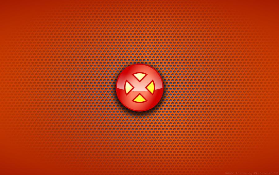 wallpaper x men comix logo by kalangozilla on deviantart