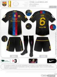 Mockup: Barcelona Fantasy Soccer Third Kit 2012