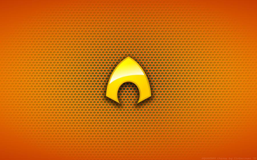 Aquaman Logo Wallpaper - Aquaman Logo by
