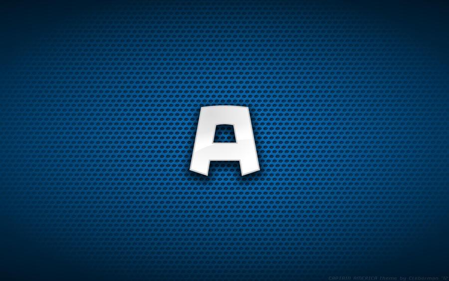 Wallpaper - Captain America Comix 'A' Logo