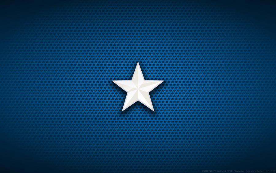 Wallpaper - Captain America Movie 'Star' Logo
